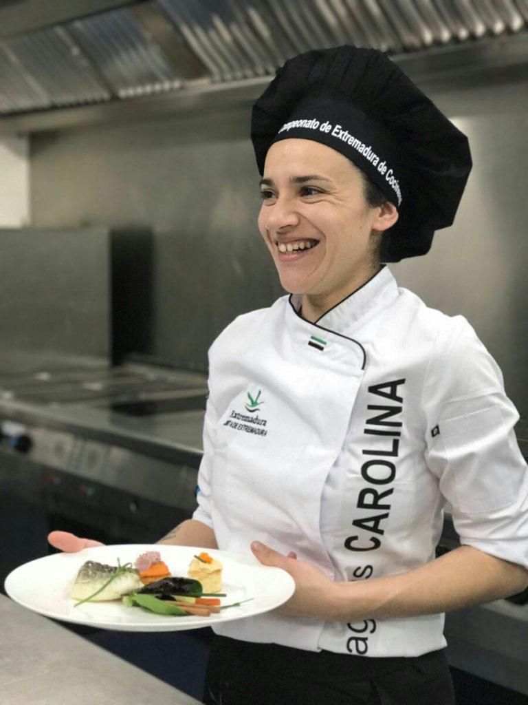 Carolina Fragua, Chef del Restaurante Palacio Carvajal Girón